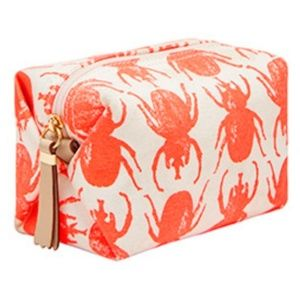 India Hicks The Beetle Bag Flamingo New